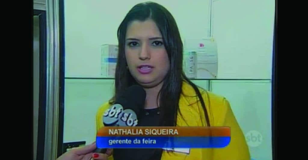 Matéria no Jornal Noticias da Manhã – SBT